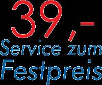 Service zum Festpreis